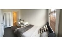 Double en-suite room still available in luxury 5 bed house, just 5 min walk from campus!!!