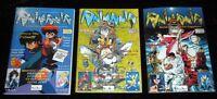 Fanzine Fumetti Animania 3 Numeri -  - ebay.it