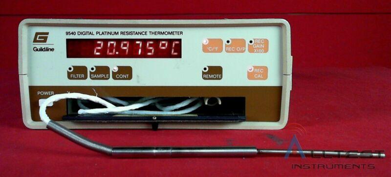 Guildline 9540 Digital Platinum Resistance Thermometer, –180 C to +240 C
