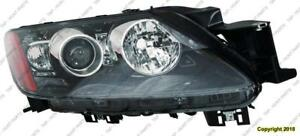 Head Lamp Passenger Side High Quality Mazda CX-7 2010-2012