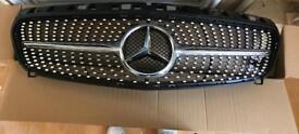 Mercedes A-Class Diamond Grill (silver edition)