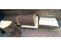 Free Log Wood for immediate pickup