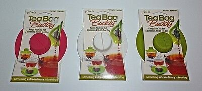 Cup Lids (Primula Tea Bag Buddy Holder Cup Mug Drink Cover Lid)