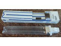 13W GERMICIDAL GX23 POND FILTER UV / UVC BULB / LAMP / TUBE ULTRA VIOLET NEW