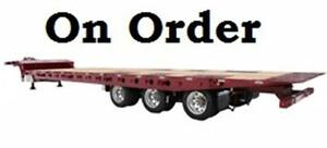 2018 DOEPKER INDUSTRIES 55 TON Tridem Sliding Axle Tilt Deck