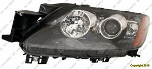 Head Light Driver Side HID With Signal High Quality Mazda CX-7 2010-2011