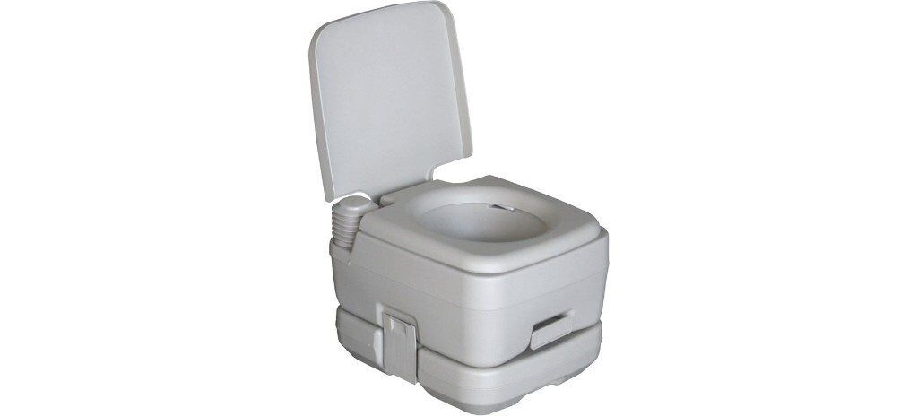 Freedom Trail Portable Flush Toilet Used Once Not For