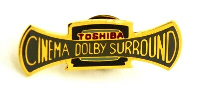 Toshiba Cinema (Pin Spilla Toshiba - Cinema Dolby Surround, cm 3,5 x 1,1 )
