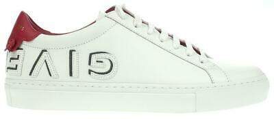 NEW GIVENCHY LADIES WHITE LEATHER URBAN STREET LOGO SNEAKER SHOES (Givenchy Ladies)