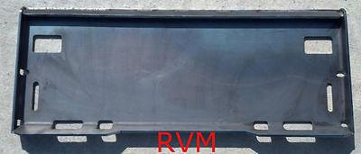 Case Skid Steer Skidsteer Loader Quick Attach Adapter Plate 516 Solid