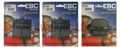 Suzuki GSF650 Bandit 2007-2011 Set of EBC Front and Rear Brake Pads
