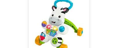 Fisher-Price Learn with Me Zebra Walker - Baby Toddler - New