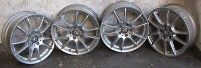 4x orig. Mercedes Alufelgen - 7x17 ET 49 - ET 35 - 5x112 - A16940102 silber #106