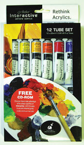 Atelier Interactive Artists Acrylic Paint  Set 12x20ml
