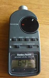 Radio Shack Sound Meter Woodvale Joondalup Area Preview