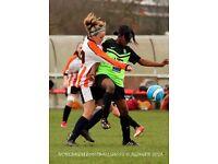 Play womens football this season for a fun, friendly, successful club near central London