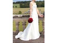 Maggie Sottero wedding dress Ivory Silk Corset top