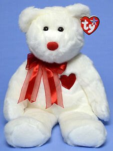 Valentino the Bear Ty Beanie Buddy stuffed animal
