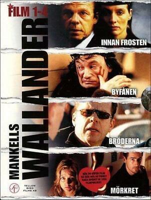 Wallander Collection 1 4-DVD Set ( Innan frosten / Byfånen / Bröderna /Mörkret )
