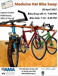 Medicine Hat Bike Swap - April 28