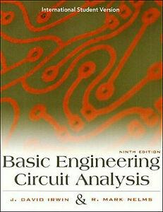BASIC ENGINEERING CIRCUIT ANALYSIS: Irwin & Nelms (9th Edition)