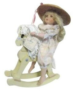 "AMY Doll (16"") & Rocking Horse"