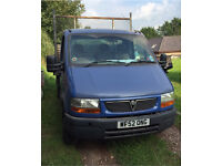 Vauxhall Movano Pick Up/Tipper