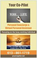 Personal Concierge & Virtual Personal Assistant Svc