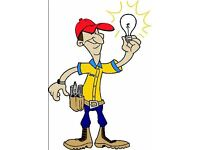 Qualified electrician no job to small