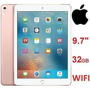 "NEW APPLE IPAD PRO 32GB TABLET 9.7"" ROSE GOLD WIFI 106512007"
