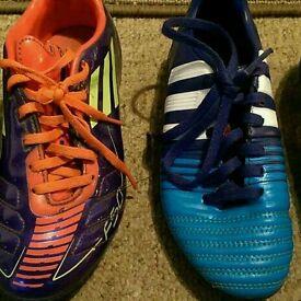 Football boots kids size 1