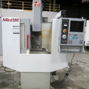 2001 Haas Mini Mill CNC Vertical Machining Center