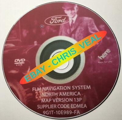 2006-2008 Ford Explorer LATEST Navigation DVD Map Update 13P GPS comprar usado  Enviando para Brazil