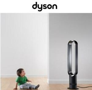 NEW DYSON BLADELESS TOWER FAN AM07 257976605 COOL W/ REMOTE CONTROL BLACK