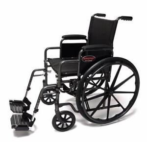 Fauteuil roulant Advantage - 244.99$ - Livraison gratuite partout au Québec - Neuf - Aucune taxes sur chaise roulante