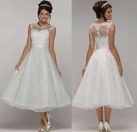 beautiful berketex lycinda tea length wedding dress