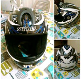 Helmet Shark Size L60 Very Good Cond