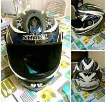 Helmet Shark RSR-2 Size L60 Very Good Cond St Peters Marrickville Area Preview