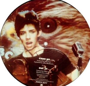 PHILIP JAP 7 inch picture disc SAVE US / OUI JA 1980s pop rock Kitchener / Waterloo Kitchener Area image 2