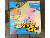 Garden hopscotch game