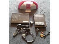 Job lot of electrical items - routers, ipod dock, dvd player, headphones, cables etc - price for ALL