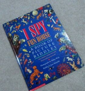 Book of Picture Riddles …I SPY FUNHOUSE