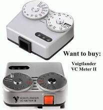 Want to buy: Voigtlander VC Meter II lightmeter (silver) Sydney City Inner Sydney Preview