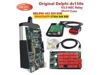 Delphi 2017 Release 3 DS150 Bluetooth VCI car diagnostic interface tester cars + trucks software