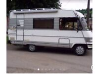 Wanted Motorhome camper van any year left or right hand drive top cash prices paid