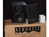 Acoustic solutions Instate 70 bookshelf speakers