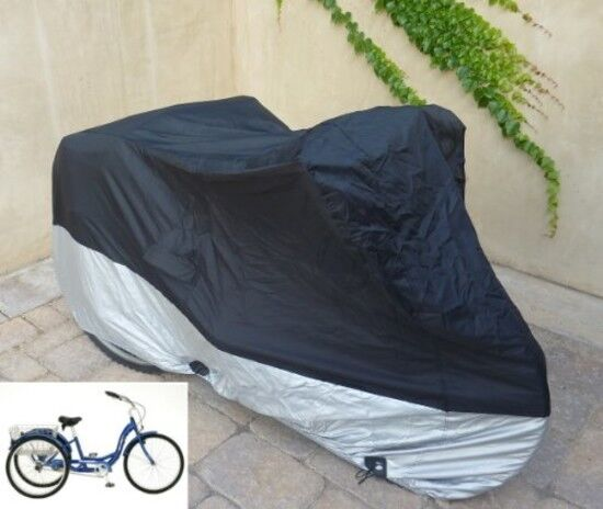 Adult Tricycle Cover For Schwinn Westport In Black Protect S