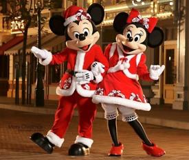 Mickey & Minnie Christmas Visits
