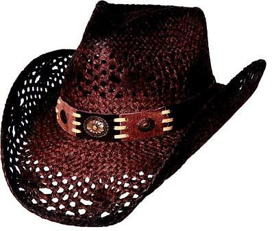 NEW Bullhide Hats 2534 Run A Muck Collection Pure Country Brown Cowboy Hat - Country Cowboy Hats