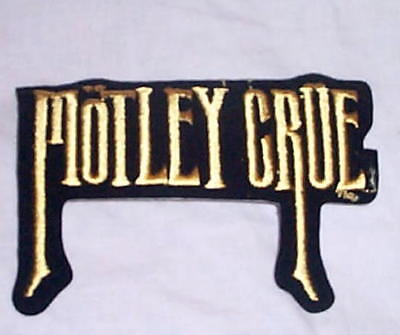 MOTLEY CRUE Theatre of Pain Vintage Embroidered Patch New Condition